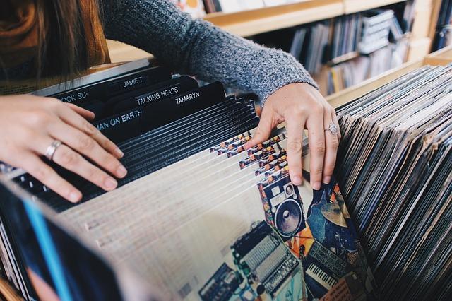 výběr vinylové desky